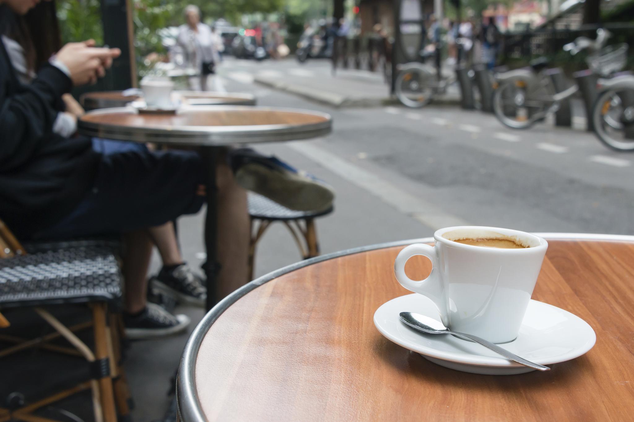 Coffee on the street