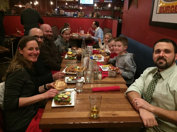 GDA crowd at 5 Star Burgers Dine Out in Kirkwood